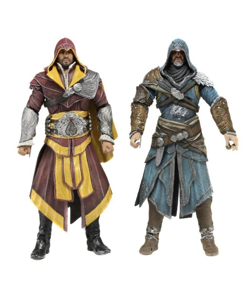 "Фигурка ""Assassin's Creed Revelations 7"" Ezio Auditore 2 Pack (Neca)"