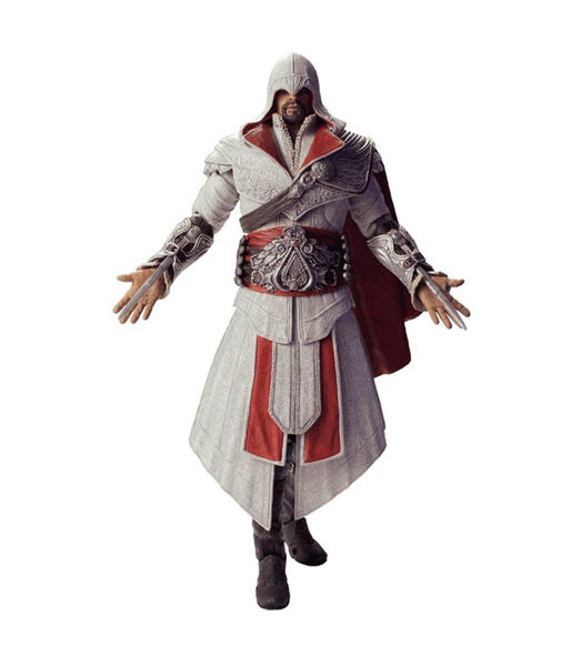 "Фигурка ""Assassin's Creed Brotherhood 7"" Ezio - Ivory Hooded (Neca)"