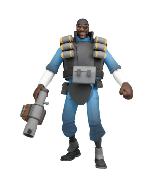 "Фигурка ""Team Fortress 7"" Series 1 - BLU Demo Deluxe (Neca)"