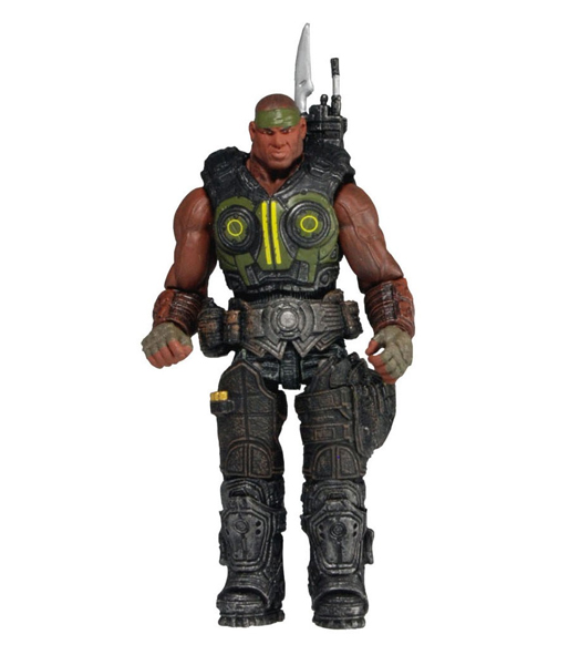 "Фигурка ""Gears of War 3 3/4"" Series 2 - Augustus Cole (Neca)"