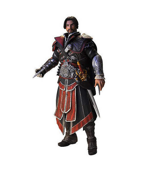 "Фигурка ""Assassin's Creed Brotherhood 7"" Ezio Ebony Unhooded (Neca)"