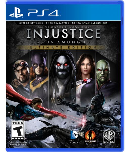 Injustice: Gods Among Us Ultimate Edition [русские субтитры] (PS4)