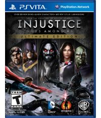 Injustice: Gods Among Us Ultimate Edition [русские субтитры] (PS Vita)