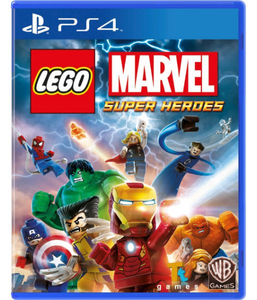 LEGO Marvel Super Heroes [Русская документация] (PS4)
