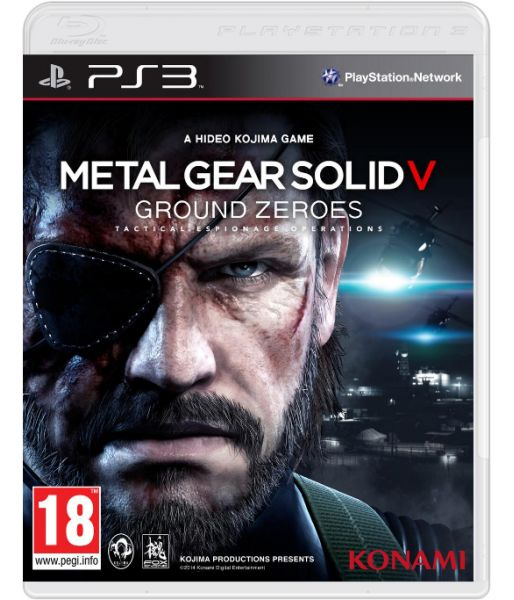 Metal Gear Solid V: Ground Zeroes [Русская версия] (PS3)