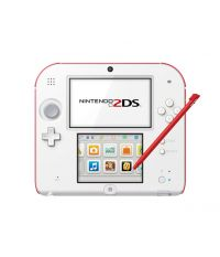 Nintendo 2DS White & Red [NIC-2202436] (2DS)