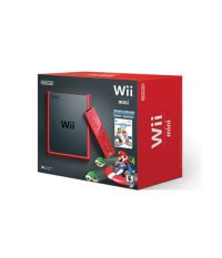 Nintendo Wii Mini Red + Mario Kart One Shot [NIC-2102736] (Wii)