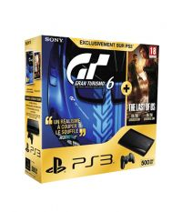 Sony PlayStation 3 Super Slim 500 Gb Premium + Gran Turismo 6 + The Last Of Us (PS3)