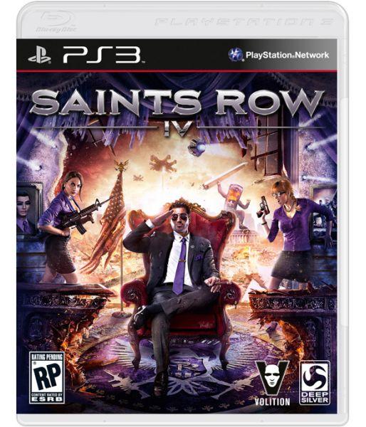 Saints Row IV [русская документация] (PS3)