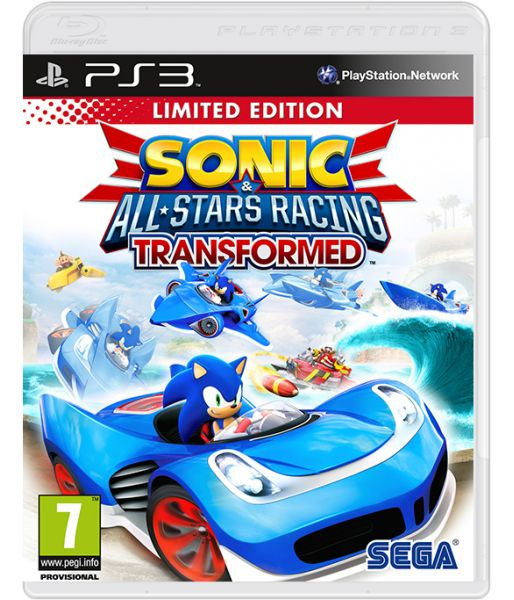 Sonic & All-Star Racing Transformed (PS3)