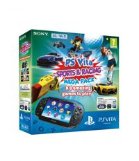 Playstation Vita 3G/Wi-Fi + 16GB memory card + Mega Pack Sport 8 промокодов (PS Vita)