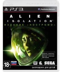 Alien Isolation: Nostromo Edition [русская версия] (PS3)
