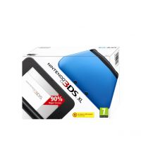 Nintendo 3DS XL HW Black + Blue (3DS)
