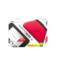 Nintendo 3DS XL HW Black + Red (3DS)