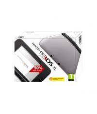 Nintendo 3DS XL HW Black + Silver (3DS)