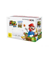Nintendo 3DS XL HW White + игра Super Mario 3D Land (3DS)