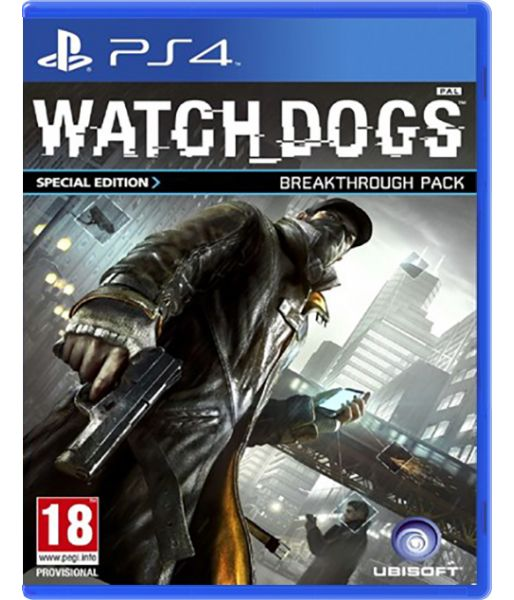 Watch Dogs [русская версия] Breakthrough edition (PS4)