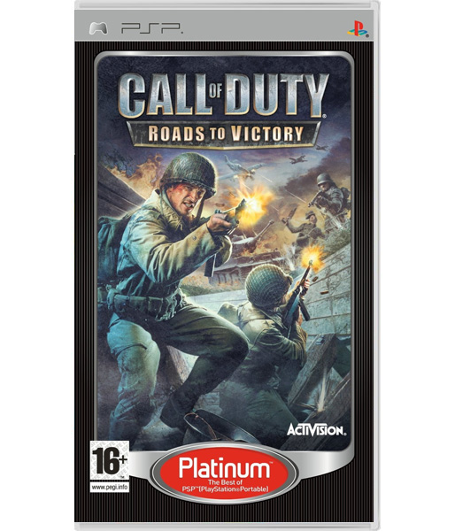 Call of Duty: Roads to Victory [Platinum] (PSP)