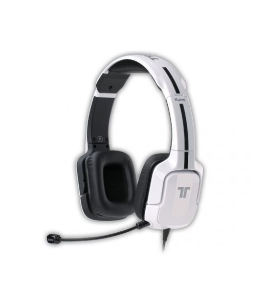 PS3, PS Vita: Tritton. Гарнитура проводная белая  Kunai стерео [Tritton Kunai Stereo Gaming Headset]