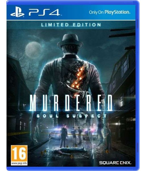Murdered: Soul Suspect Limited Edition [русская версия] (PS4)