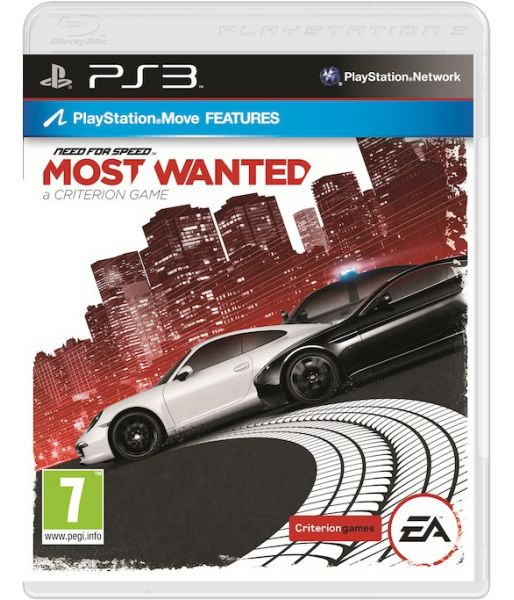 Need for Speed: Most Wanted [Essentials, Русская версия] (PS3)