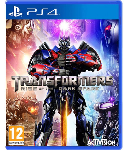 Transformers: Rise of the Dark Spark [Битва за Темную Искру] (PS4)