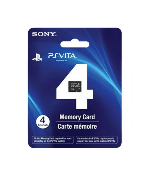 Карта памяти 4 Гб [PS Vita Memory Card 16GB-PCH-Z161:SCEE] (PS Vita)