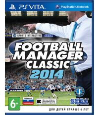 Football Manager Classic 2014 [русская версия] (PS Vita)