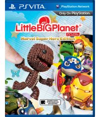 LittleBigPlanet. Marvel Super Hero Edition [русская версия] (PS Vita)