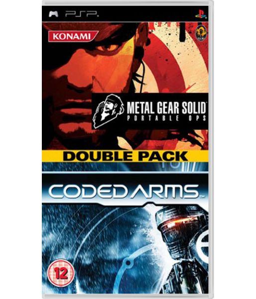 Metal Gear: Portable Ops + Coded Arms (PSP)
