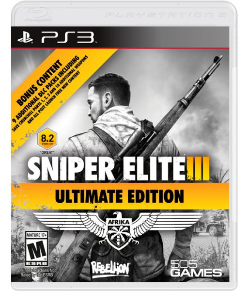Sniper Elite 3 Ultimate Edition [русская версия] (PS3)