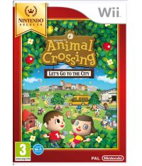 Animal Crossing: Let's Go to the City [Wi-Fi рус.док.] (Wii)