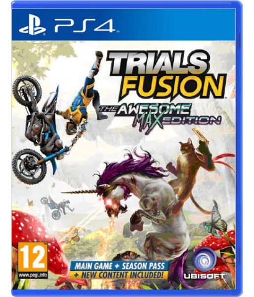 Trials Fusion: The Awesome. Max Edition [русская инструкция] (PS4)