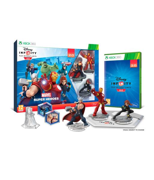 Disney Infinity 2.0 (Marvel) Стартовый набор Xbox 360 (русская версия)