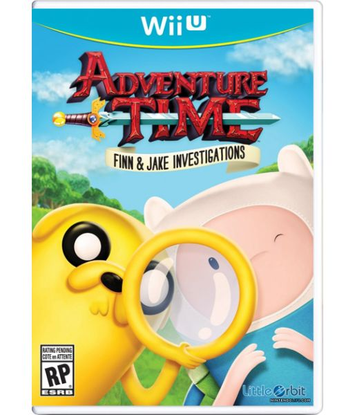 Adventure Time: Finn & Jake Investigations (Wii U)