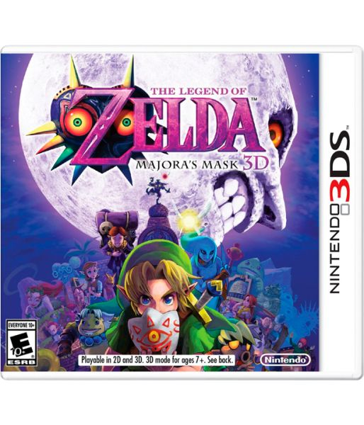 The Legend of Zelda: Majora's Mask 3D [русская документация] (3DS)