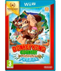Nintendo Selects Donkey Kong Country: Tropical Freeze (Английская версия) (Wii U)