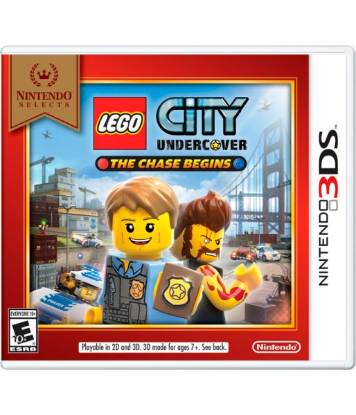 Nintendo Selects LEGO City Undercover: The Chase Begins (Английская версия) (3DS)