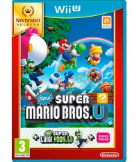 Nintendo Selects New Super Mario Bros. U + New Super Luigi U (Русская версия) (Wii U)