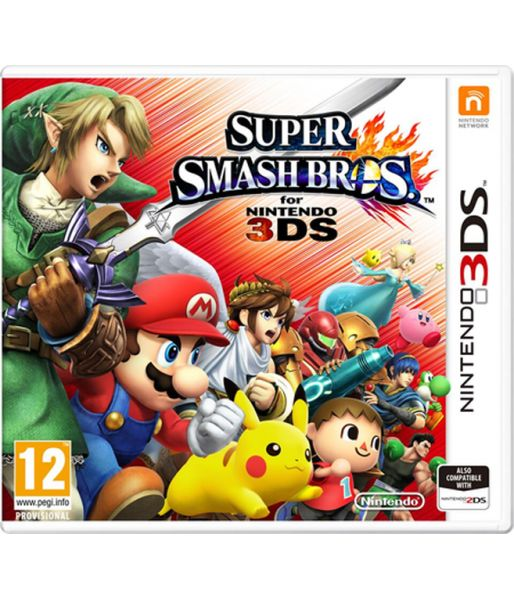 Super Smash Bros (русская версия) (3DS)
