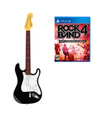 Комплект для Rock Band 4 (игра + гитара) Wireless Fender Stratocaster (RB491268ES02/02/1)