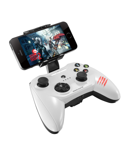 Геймпад Mad Catz C.T.R.L.R Mobile Gamepad - Gloss White беспроводной (MCB322660001/04/1)