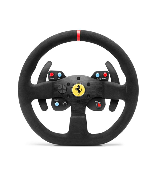 Съемное рулевое колесо Thrustmaster TM Leather 28GT Wheel Add-On,PS4.XBOX one. PC/PS3Съемное рулевое колесоThrustmaster Ferrari GTE F599XX EVO 30 Wheel, PS3/PS4/Xbox ONE