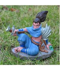 League of Legends The Unforgiven Yasuo PVC Figure 13CM UQ112079