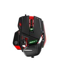 Мышь Mad Catz RAT 6 Gaming Mouse - Black/Red проводная лазерная (MCB4373200A3/04/1)