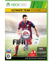 FIFA 15 Ultimate team Edition [русская версия] (Xbox 360)