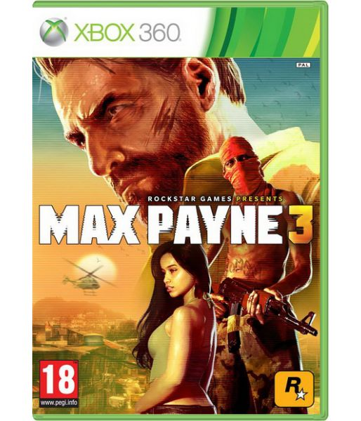 Max Payne 3 [русские субтитры] with Cemetery Multiplayer Map (Xbox 360)