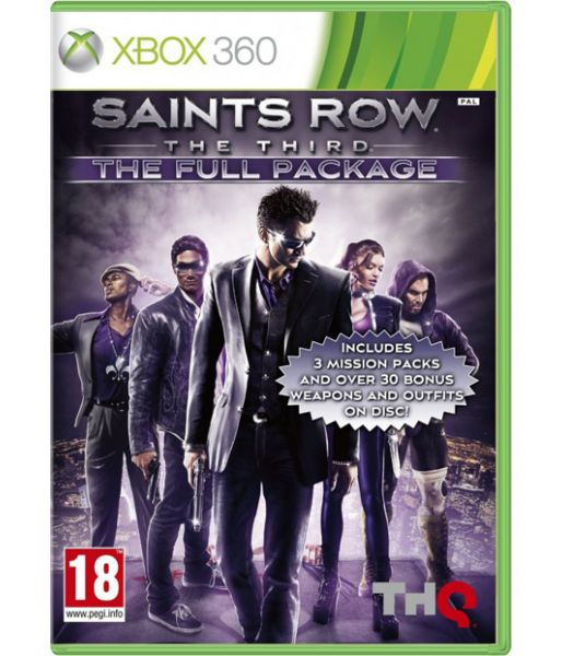 Saints Row: The Third [русские субтитры] Full package (Xbox 360)