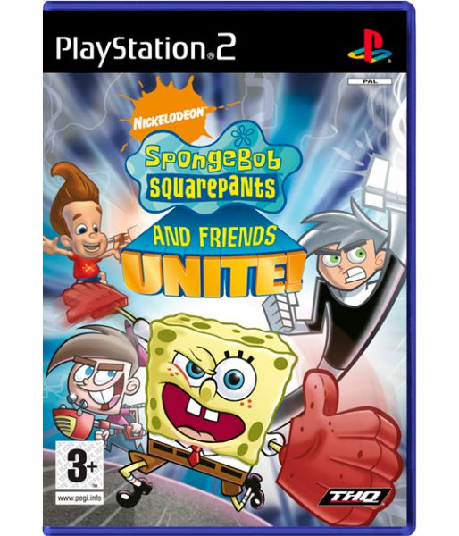 Spongebob Squarepants and Friends: Unite! (PS2)