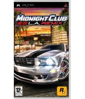 Midnight Club: Los Angeles. Remix [Английская версия] (PSP)